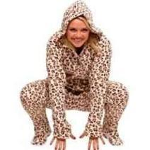 Hooded Footed Pajamas For Adults: His And Hers Onesies Footed Fleece Pajamas | Shopping Mania | Scoop.it