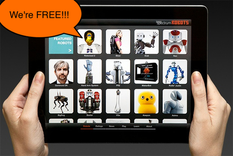 The Robots App Is FREE During National Robotics Week - IEEE ... | Robots in Higher Education | Scoop.it