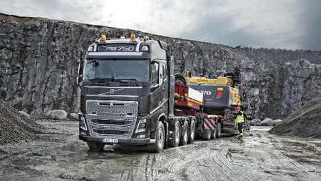 Volvo Trucks expose ses Euro 6 au salon Hillhead | Materiels Equipement Construction | Scoop.it