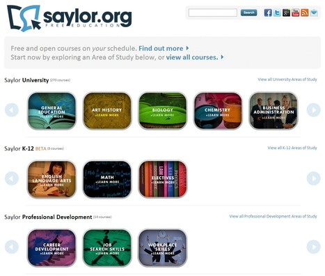 Saylor.org – Free Online Courses Built by Professors | Time to Learn | Scoop.it