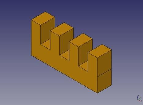 Diseño de piezas con Freecad - WikiRobotics | Contemporáneo | Scoop.it