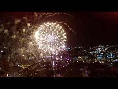Video: Drone captures fireworks | Autonomous weapon systems | Scoop.it