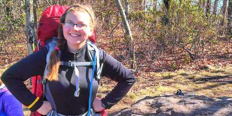 A 15-Year-Old Girl Is Very Close To Breaking An Appalachian Trail Record | Appalachian Trail | Scoop.it