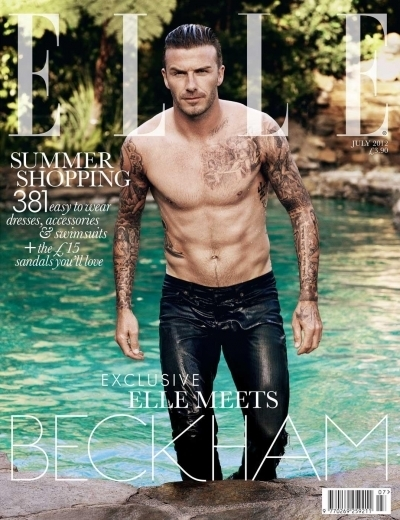 David Beckham On The Cover Of Elle UK July 2012 | I don't do fashion, I am fashion | Scoop.it