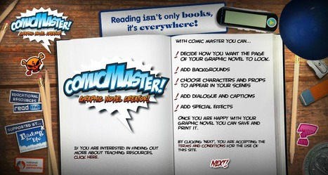 Comic Master - graphic novel creator | immersive media | Scoop.it