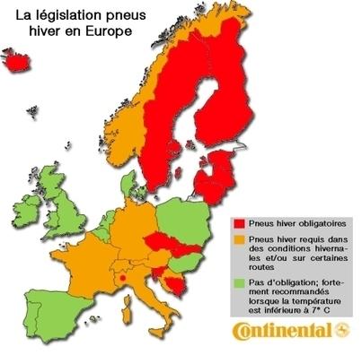 Toopneus'blog! | Le pneu hiver et sa réglementation - France et Europe | Info-Pneus : actus, conseils, promos | Scoop.it