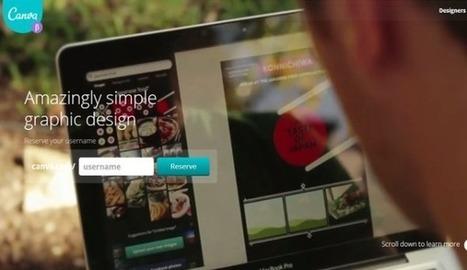 Canva, aplicación web para crear tarjetas, carteles, presentaciones y mucho más | NTICs en Educación | Scoop.it