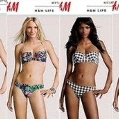 H&M Puts Real Model Heads On Fake Bodies | Machinimania | Scoop.it