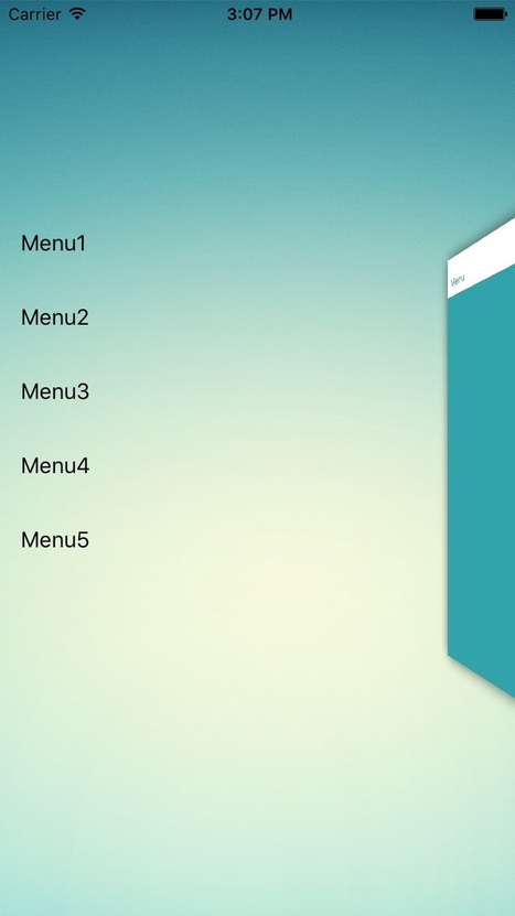 ITRAirSideMenu for iOS - Cocoa Controls | mr ios | Scoop.it