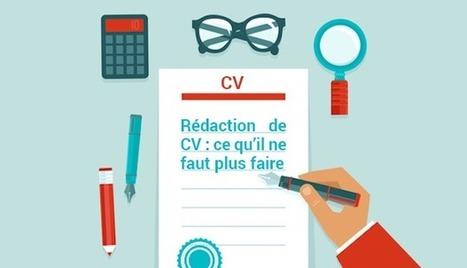 Les 7 fautes récurrentes à éviter dans un CV | Emploi 2.0 | Scoop.it