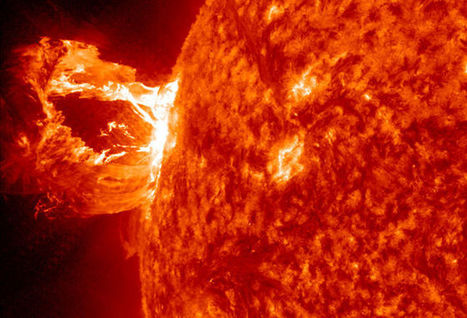 Ancient Solar Superflare Suggests Risks for Mars Missions | Space matters | Scoop.it