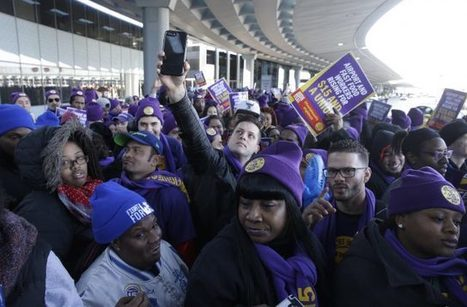 Students rally in first #Fightfor15 protests since Trump's election | PSLabor:  Your Union Free Advantage | Scoop.it