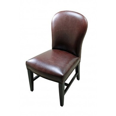 Claremont Leather Side Chair | old world style furniture | Scoop.it