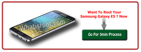 Root Samsung Galaxy E5 Without PC - Easy Steps Here | Akshay | Scoop.it