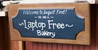 Coffee shop bans laptops and tablets, business grows   Coffee News   Scoop.it