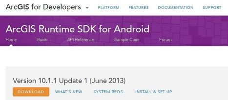 Getting Started with the ArcGIS Runtime SDK for Android | ArcGIS Geography | Scoop.it