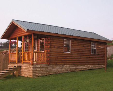 The Hunter Log Cabin for only $5,885 | Maisons éco | Scoop.it