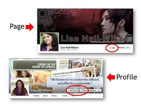 5 Reasons to Use a Facebook Profile (Not a Page) to Build Platform by Lisa Hall-Wilson | Book Promotion and Marketing | Scoop.it