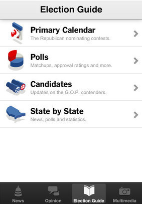 App Store - NYTimes Election 2012 | iPad Apps for Education | Scoop.it