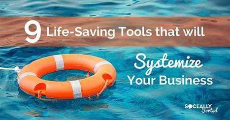 9 Life-Saving Tools that Will Systemize Your Business | Top Social Media Tools | Scoop.it