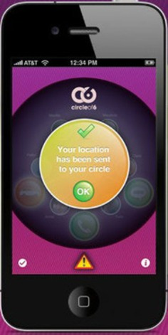Circle of 6 Anti-Violence App Builds Upon Friendship and Texting | Herstory | Scoop.it