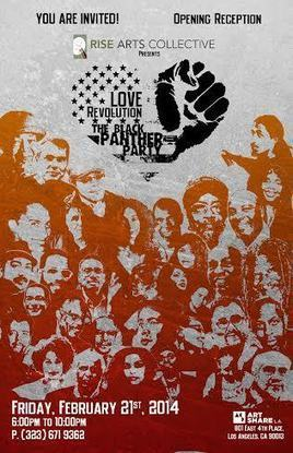 RISE: Love. Revolution. The Black Panther Party – Gallery @ Art Share ‹ Art Share L.A.   Social Art Practices   Scoop.it