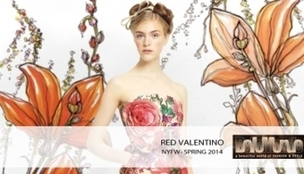 Red Valentino spring 2014 RTW | Rohit Bal Indian Bridal Show 2013 | Scoop.it