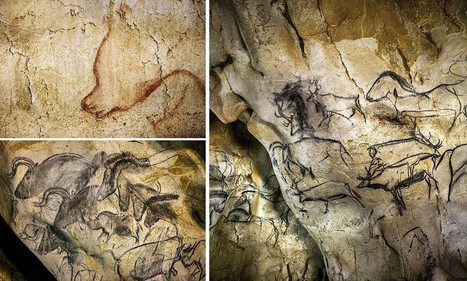 first art 36,000 year-old-cave paintings mammoths, bison and hunters | Ancient Stones Unturned | Scoop.it