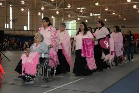 The Pink Shawl Project: Native Women Wear Their Support for Breast Cancer ... - Indian Country Today Media Network.com | American Indian Health | Scoop.it