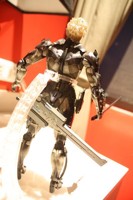 Raiden Metal Gear Rising Play Arts Kai | Metal Art | Scoop.it
