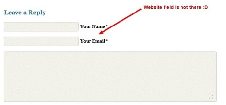 WordPress Plugin To Remove WebSite Link From Comment Form | Interesting and Useful WordPress Plugins | Scoop.it