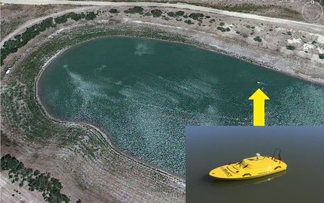 Oceanscience Hydrographic Survey Z-Boat - Visible from Space! | Marine stuff | Scoop.it