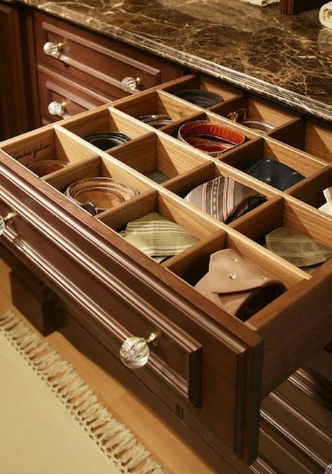 Diverse Storage Ideas For Your Belts - Home Decorating Trends | Apartment Decorating | Scoop.it