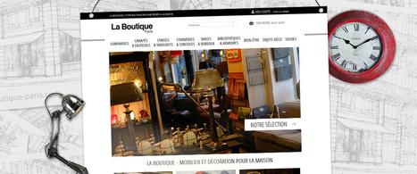 La Boutique Paris : décoration de style résolument originale, sous Oasis 7 bien-sûr ! | Infos E-commerce et actus de l'agence | Scoop.it