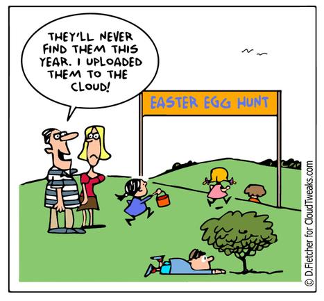 The Lighter Side Of The Cloud - Easter Egg Hunt - CloudTweaks.com: Cloud Information | Digital-News on Scoop.it today | Scoop.it