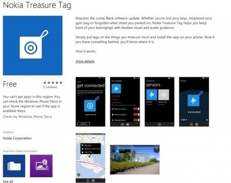 Nokia Treasure Tag app in store to help find your stuff with Augmented Reality! What would you tag? | Augmented Reality News and Trends | Scoop.it