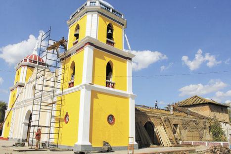 Reconstruyen antiguo templo | La Prensa (Nicaragua) | Kiosque du monde : Amériques | Scoop.it