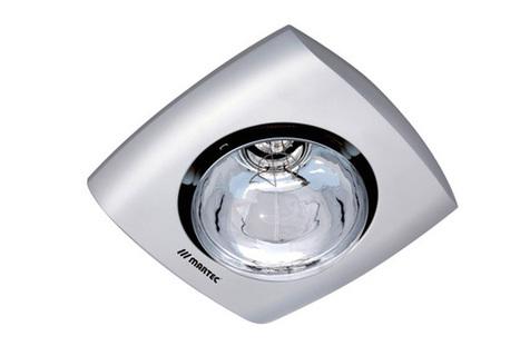 Martec Contour 1 Heat Bathroom Heater Silver  -  $49.99 | Ceiling Fans Lights | Scoop.it