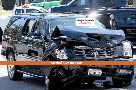 SHOCK PICS: Music Mogul DIDDY Gets Into A CAR CRASH . . . And We Got PICS Of Him CRAWLING Out Of The TWISTED UP WRECK!!! - MediaTakeOut.com™ 2012 | GetAtMe | Scoop.it