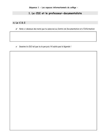 E.M.I 6ème -Séquence 1, séance 1- LE C.D.I et le professeur-documentaliste  I  Doc à bord | Documentation | Scoop.it