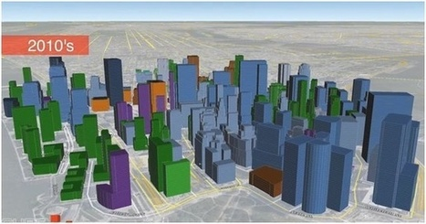 Vizualizing A Century of Urban Development in  Manhattan | visual data | Scoop.it