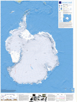 Carte de l'Antarctique | Education | Technologies numériques & Education | Scoop.it