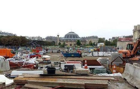 Paris : les baraques de chantier des Halles ont disparu   Quartier des Halles - et un peu plus autour de la Canopée...   Scoop.it