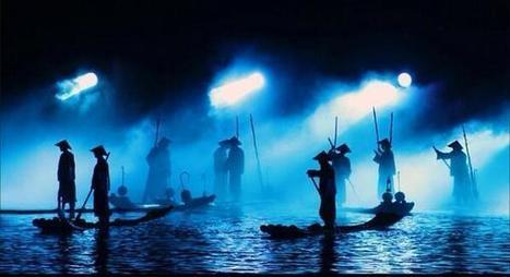 Séances de pêche de nuit ... | Voyage au coeur du Vietnam | Scoop.it