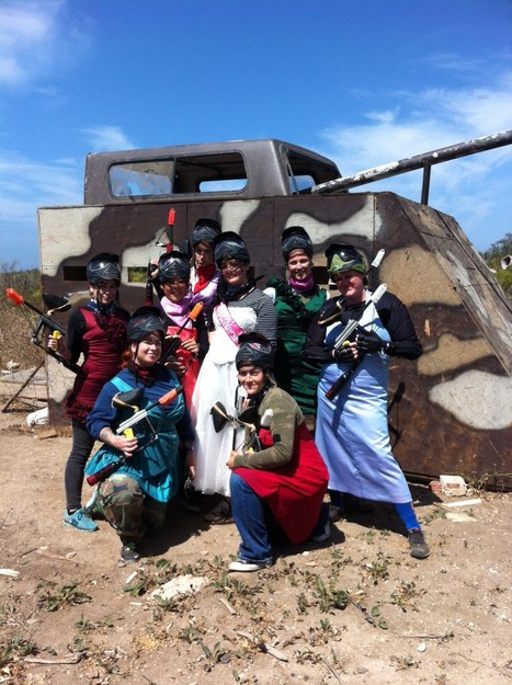 Paintball USA Bachelorette Party | Paintball USA | Scoop.it