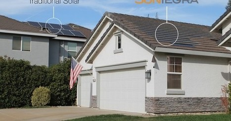 The solar roof exists: SunTegra offers solar shingles and tiles | The EcoPlum Daily | Scoop.it