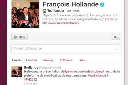 @fhollande, avatar numérique de François Hollande | La petite revue du journaliste web | Scoop.it