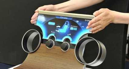 Sharp invente les écrans non rectangulaires | Services&Technologies | Scoop.it