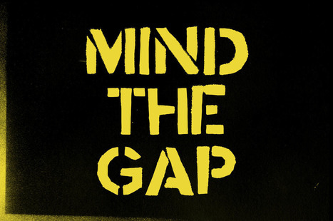 Mind the gap font each and every letter cut out by hand | My Typefaces | Scoop.it