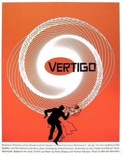 Saul Bass: Vertigo | THRILLER FILM CODES & CONVENTIONS | Scoop.it